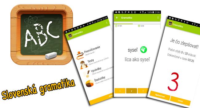Slovenská gramatika app