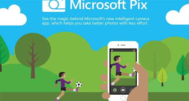 Microsoft pix aplikácia
