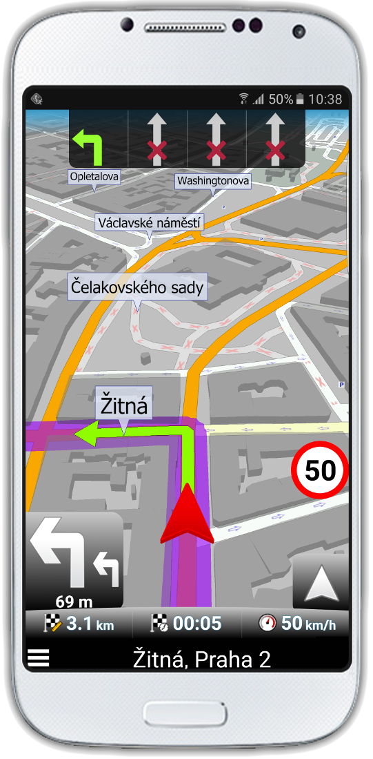 navigator_2-2_navigation_3d_lane_assistant_praha_2_port_tel